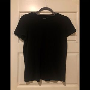 Madewell// black t shirt